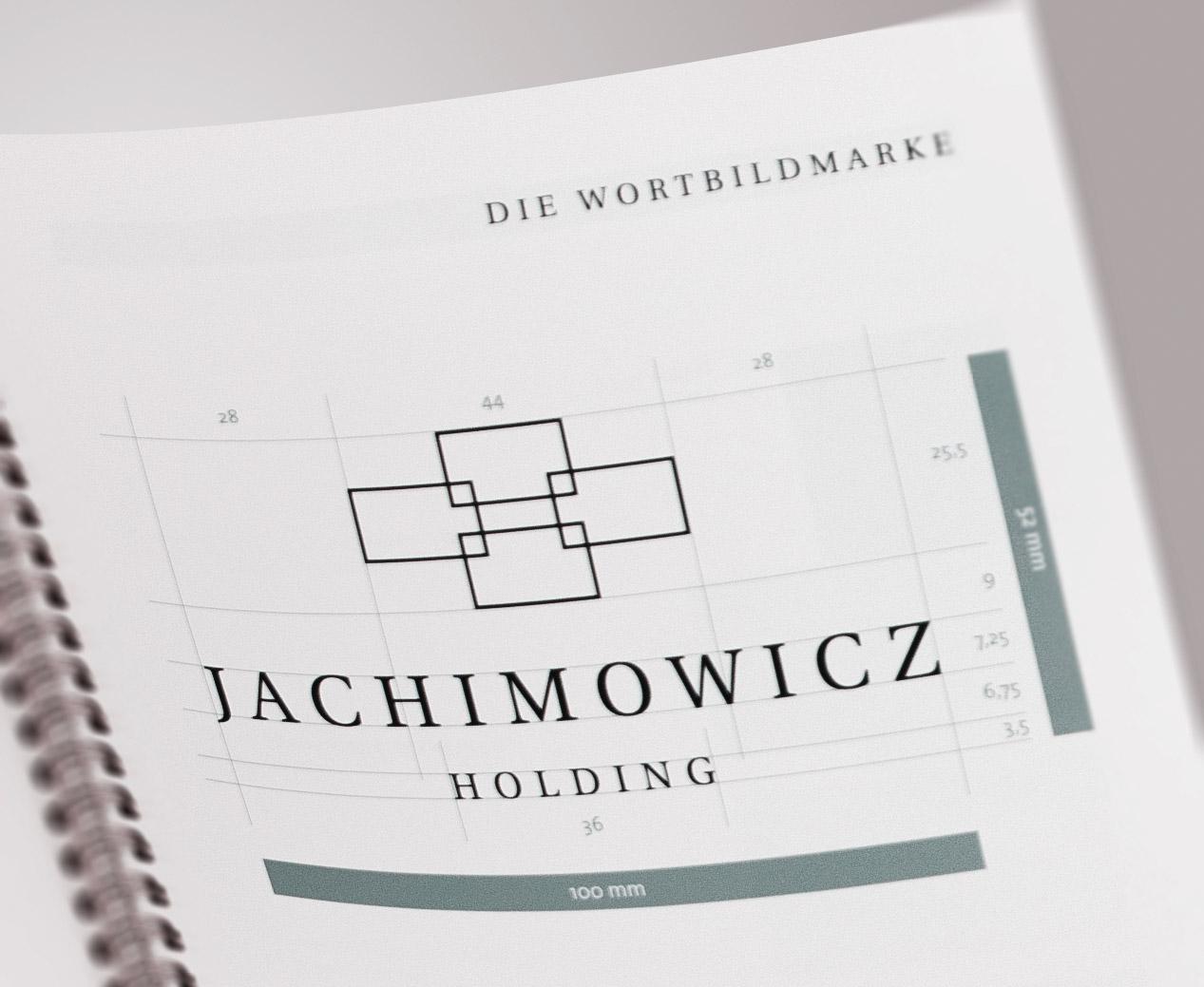 Corporate Handbuch mit Logoentwicklung