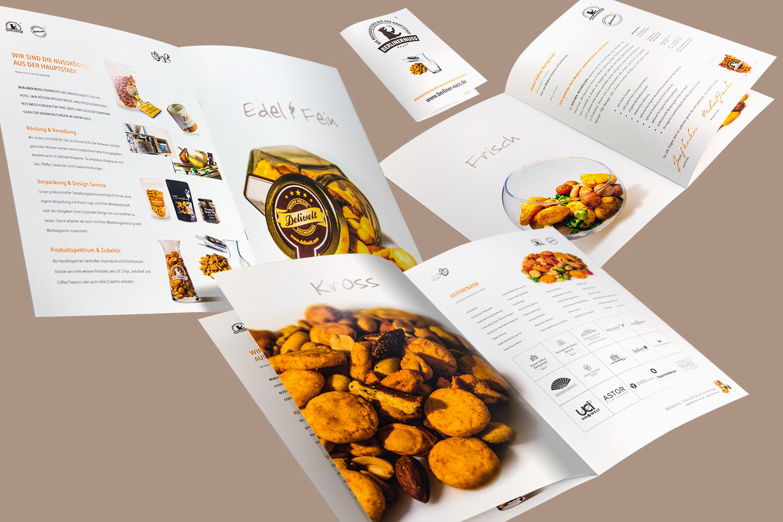 Imagebroschüre für ein Handels- und Produktionsunternehmen