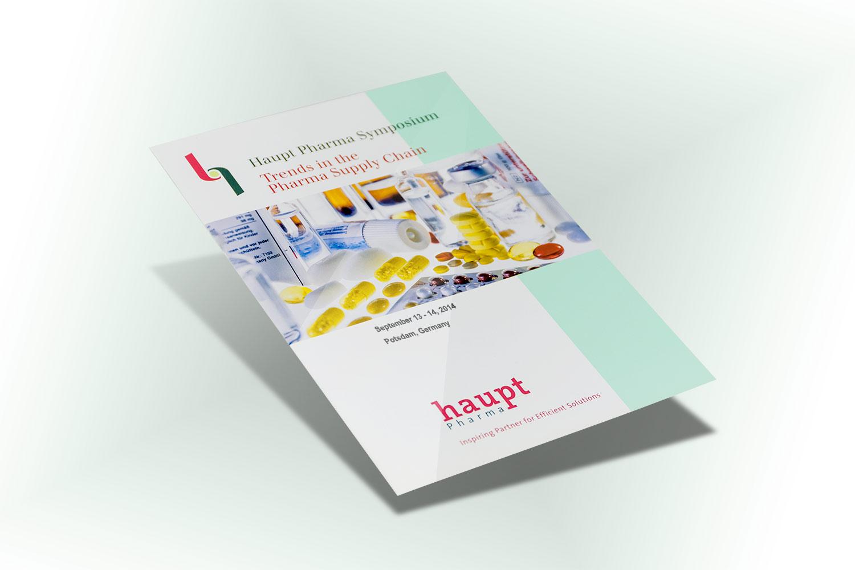 Imagebroschüre für ein sehr innovatives Unternehmen aus der Pharmabranche (weltgrößter Lohnauftragshersteller)