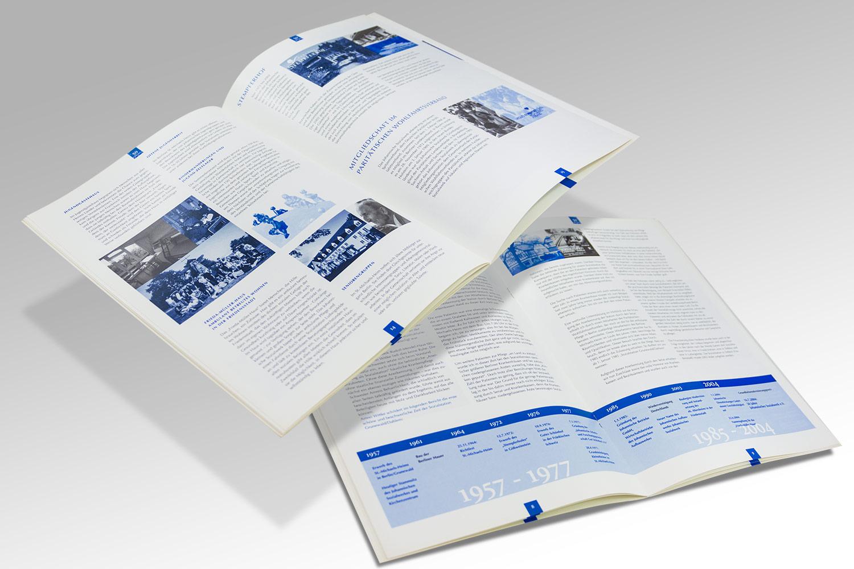 Geschäftsbericht für ein Sozialwerk
