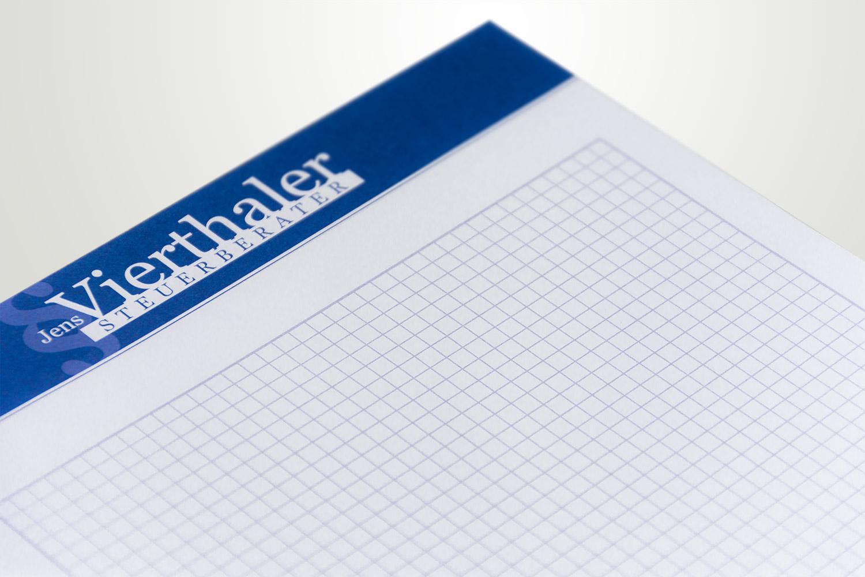 Logo und Geschäftsausstattung für eine Steuerberatungskanzlei