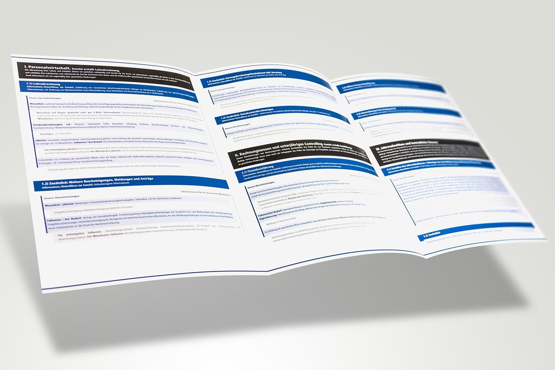 Broschüre für eine Steuerberatungskanzlei