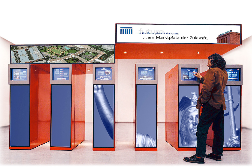 """BERLIN GATE für """"Partner für Berlin"""" und Labor für mediale Architektur LAMA"""