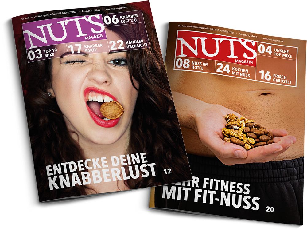 NUTS - Das Knabbermagazin